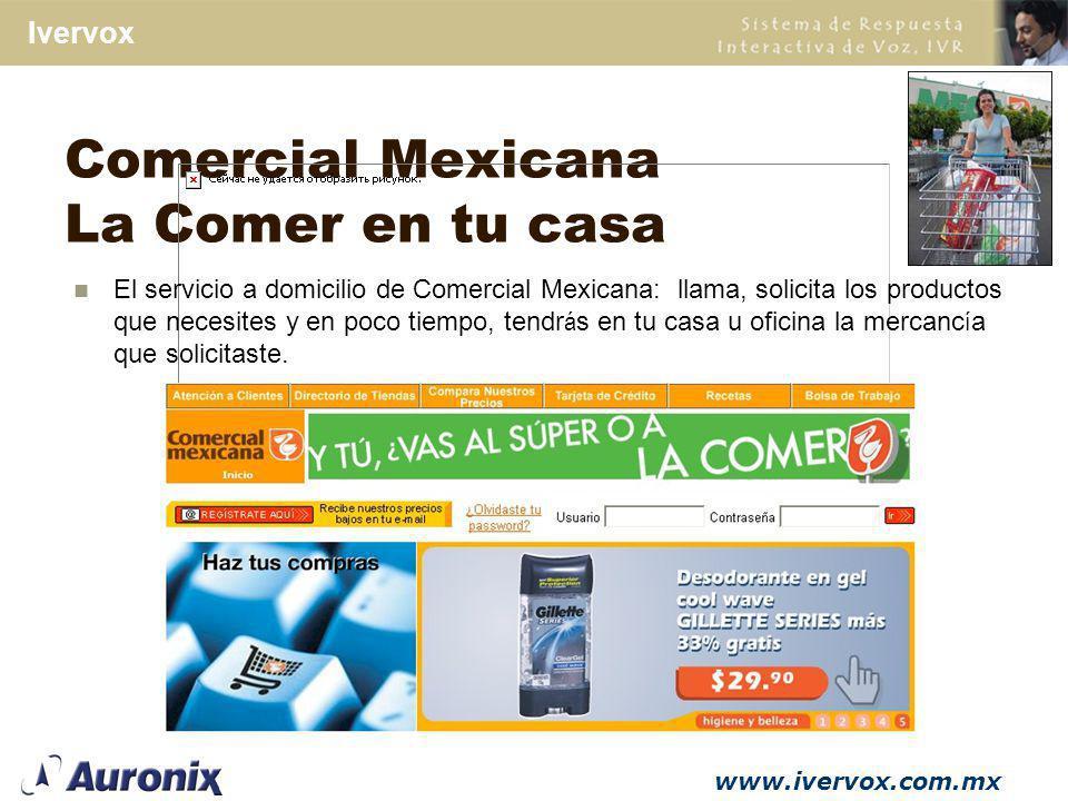 Comercial Mexicana La Comer en tu casa