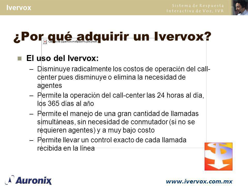 ¿Por qué adquirir un Ivervox