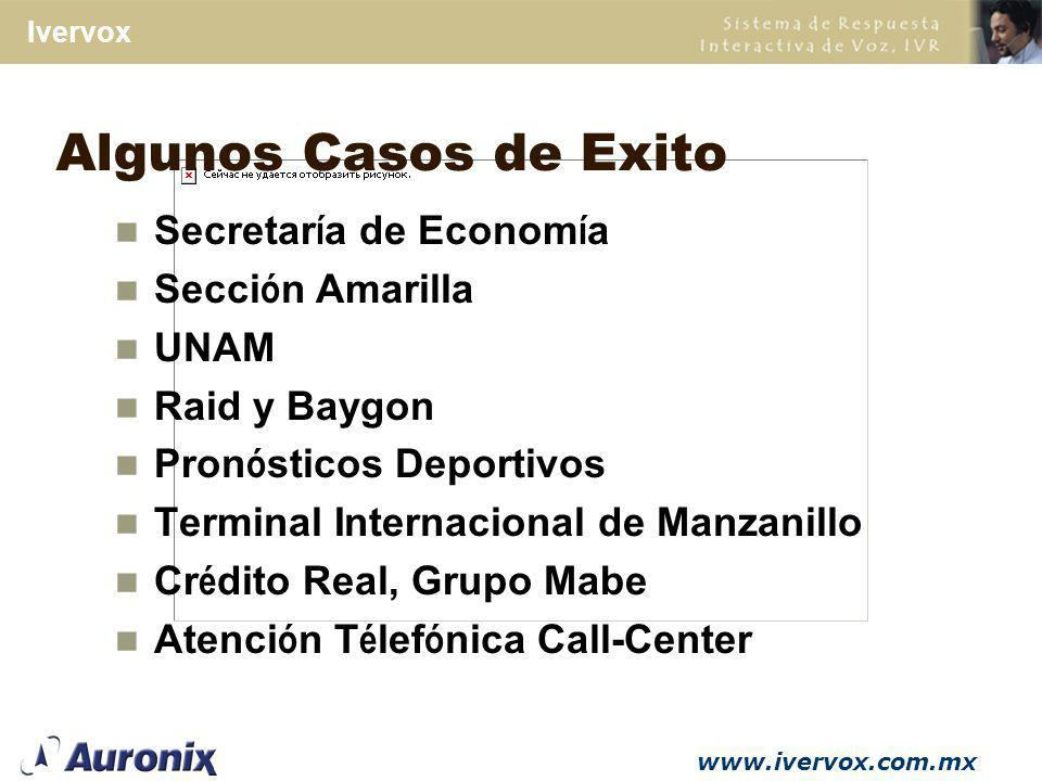 Algunos Casos de Exito Secretaría de Economía Sección Amarilla UNAM