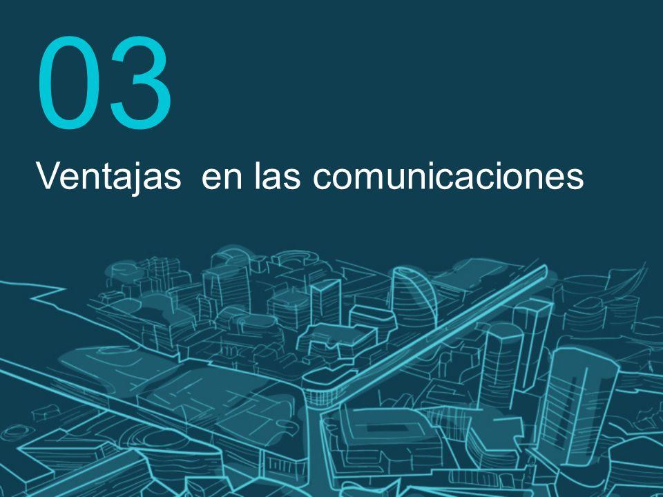 03 Ventajas en las comunicaciones