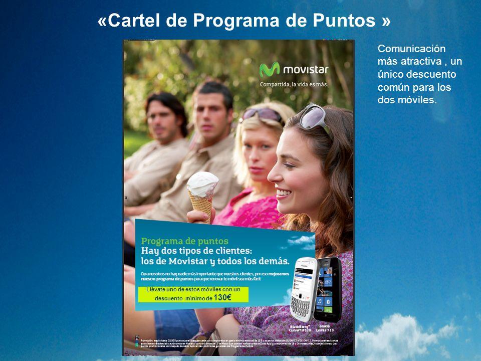 «Cartel de Programa de Puntos »