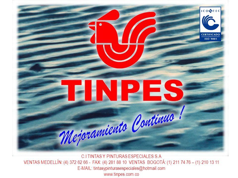 C.I TINTAS Y PINTURAS ESPECIALES S.A