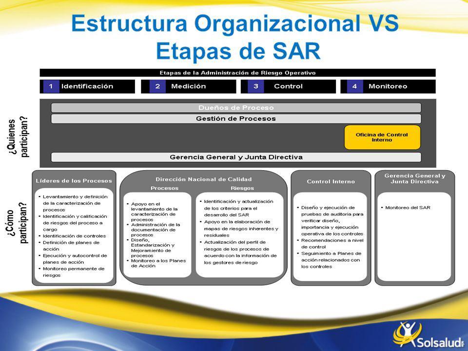 Estructura Organizacional VS