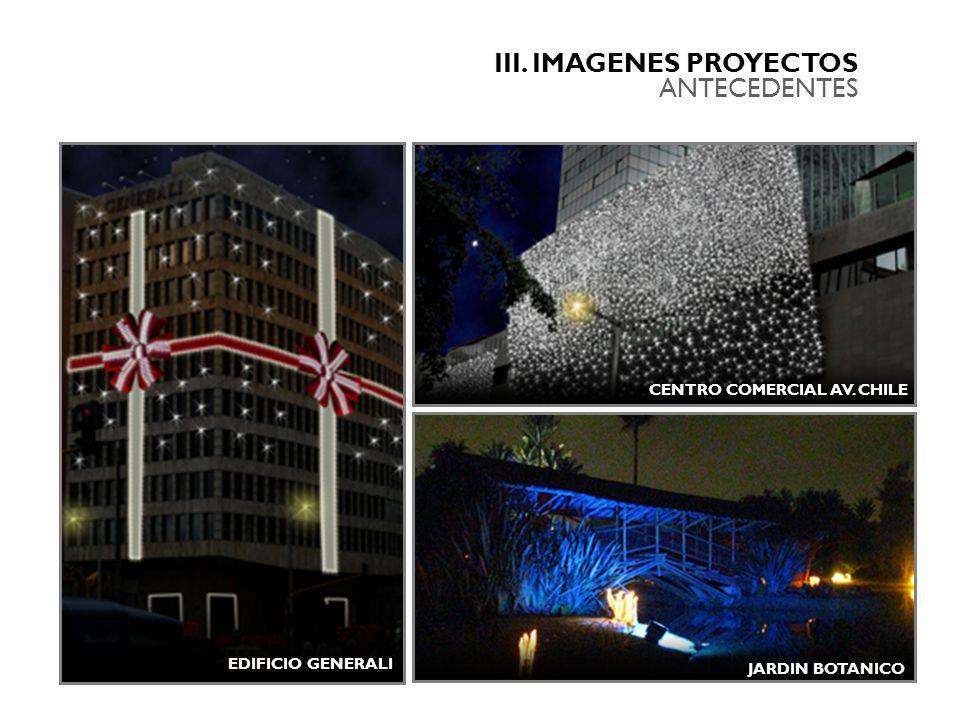 III. IMAGENES PROYECTOS ANTECEDENTES