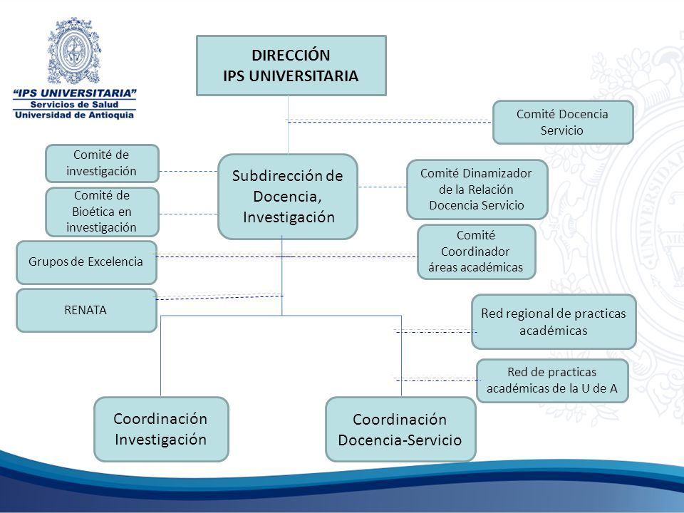 DIRECCIÓN IPS UNIVERSITARIA