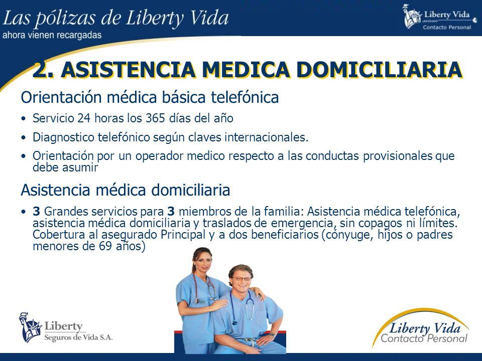 2. ASISTENCIA MEDICA DOMICILIARIA