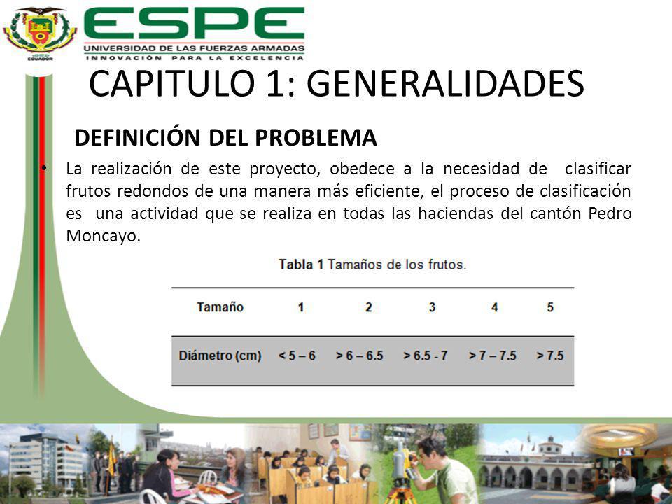 CAPITULO 1: GENERALIDADES