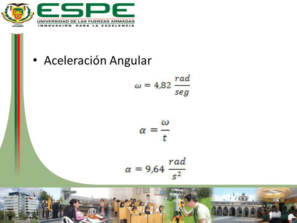 Aceleración Angular