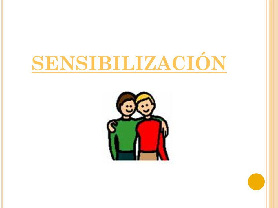 SENSIBILIZACIÓN