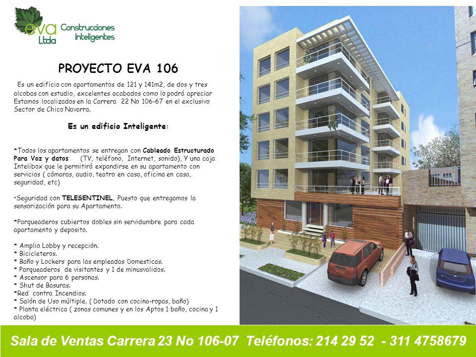 Sala de Ventas Carrera 23 No 106-07 Teléfonos: 214 29 52 - 311 4758679