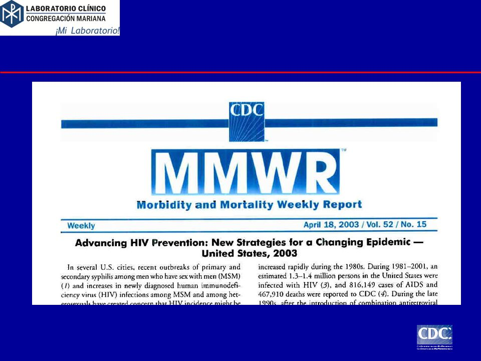 4/1/2017 In 2003, CDC announced its new initiative, Advancing HIV Prevention: New Strategies for a Changing Epidemic.
