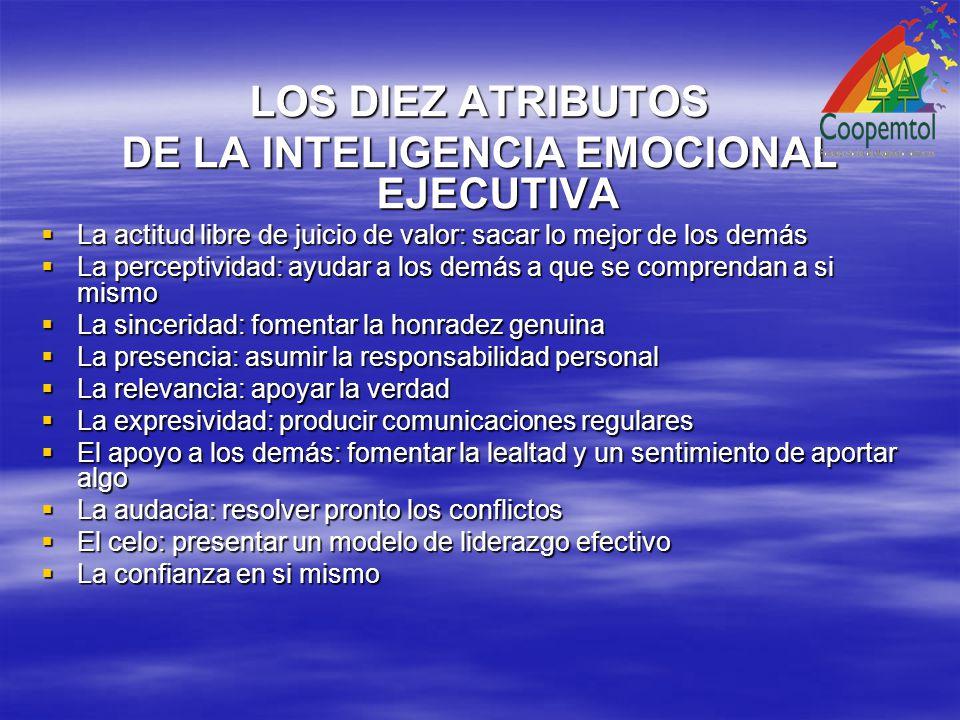 DE LA INTELIGENCIA EMOCIONAL EJECUTIVA
