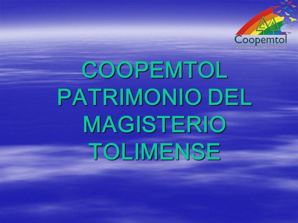 COOPEMTOL PATRIMONIO DEL MAGISTERIO TOLIMENSE