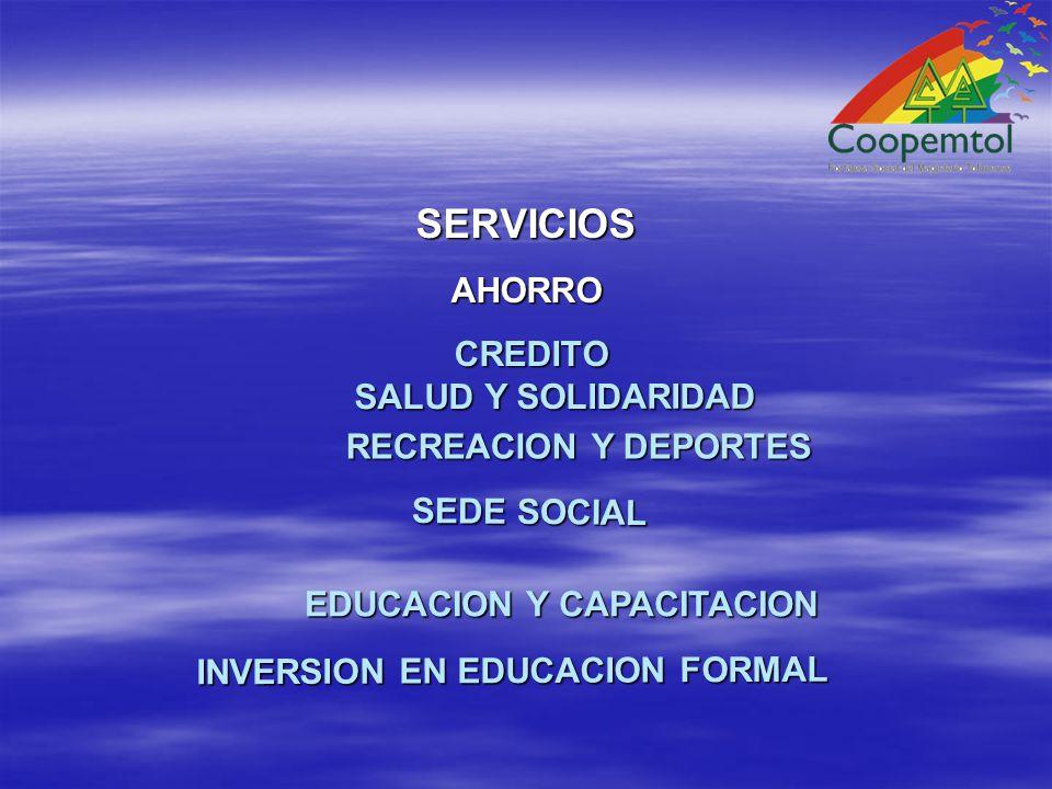 SERVICIOS SALUD Y SOLIDARIDAD RECREACION Y DEPORTES SEDE SOCIAL