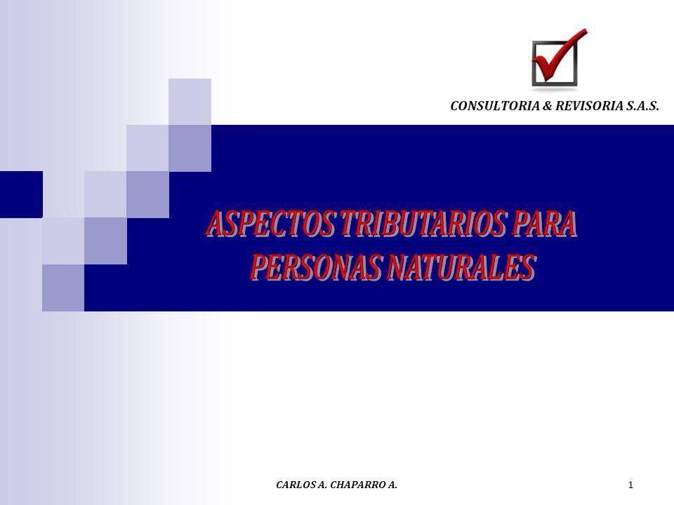 ASPECTOS TRIBUTARIOS PARA