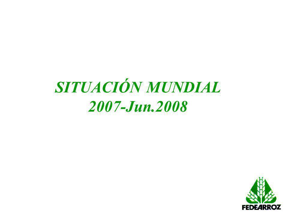 SITUACIÓN MUNDIAL 2007-Jun.2008