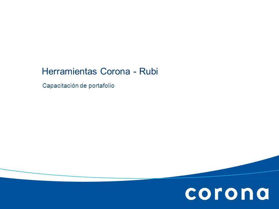 Herramientas Corona - Rubi