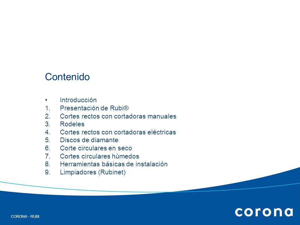Contenido Introducción Presentación de Rubi®