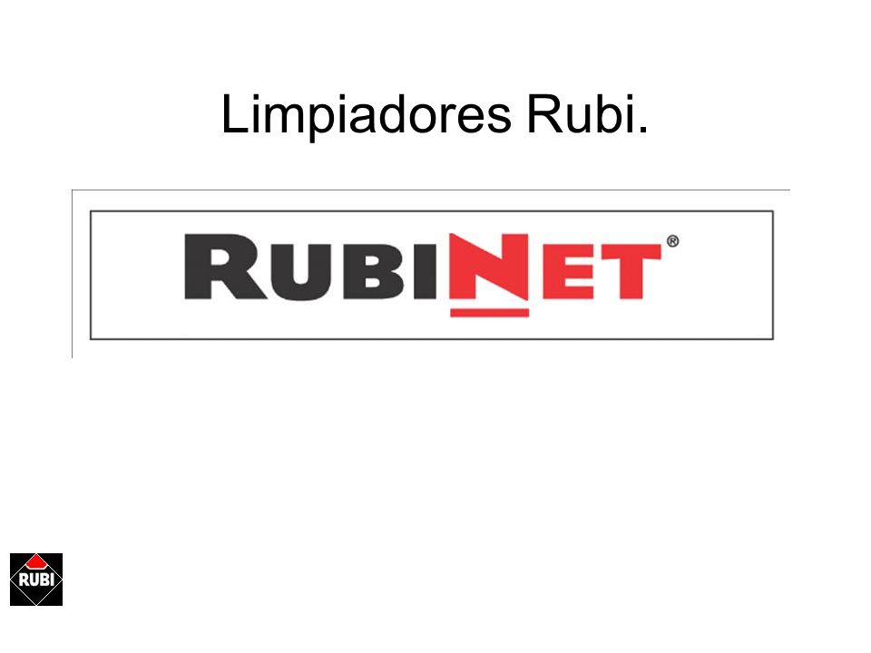 Limpiadores Rubi.