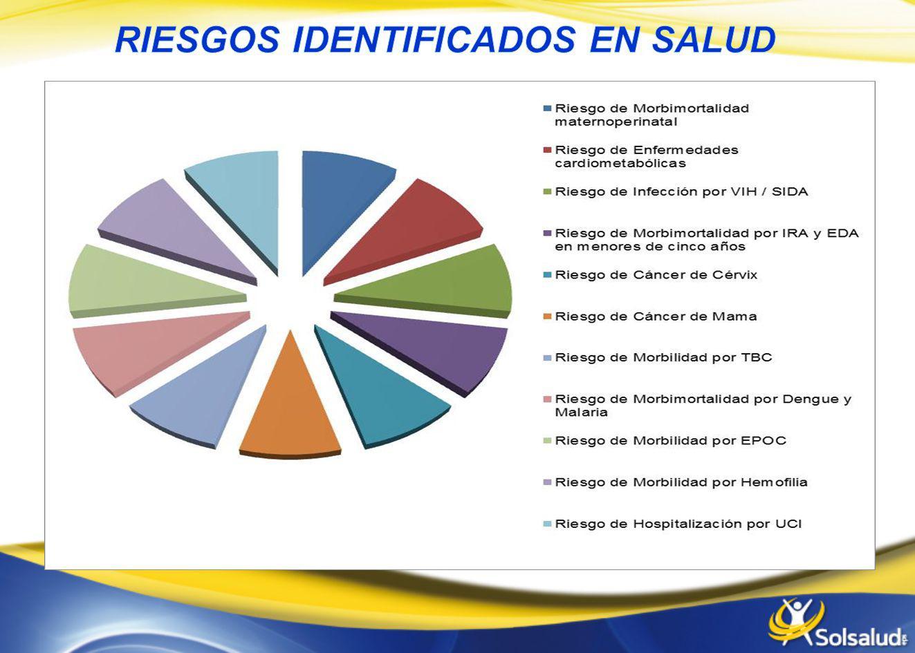 RIESGOS IDENTIFICADOS EN SALUD