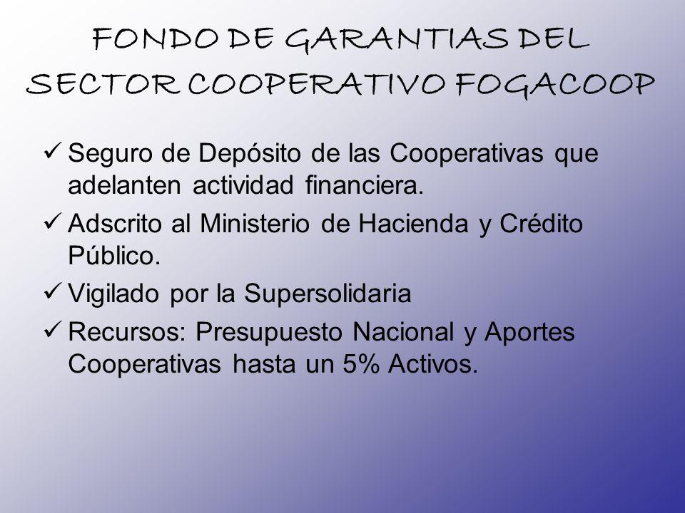 FONDO DE GARANTIAS DEL SECTOR COOPERATIVO FOGACOOP