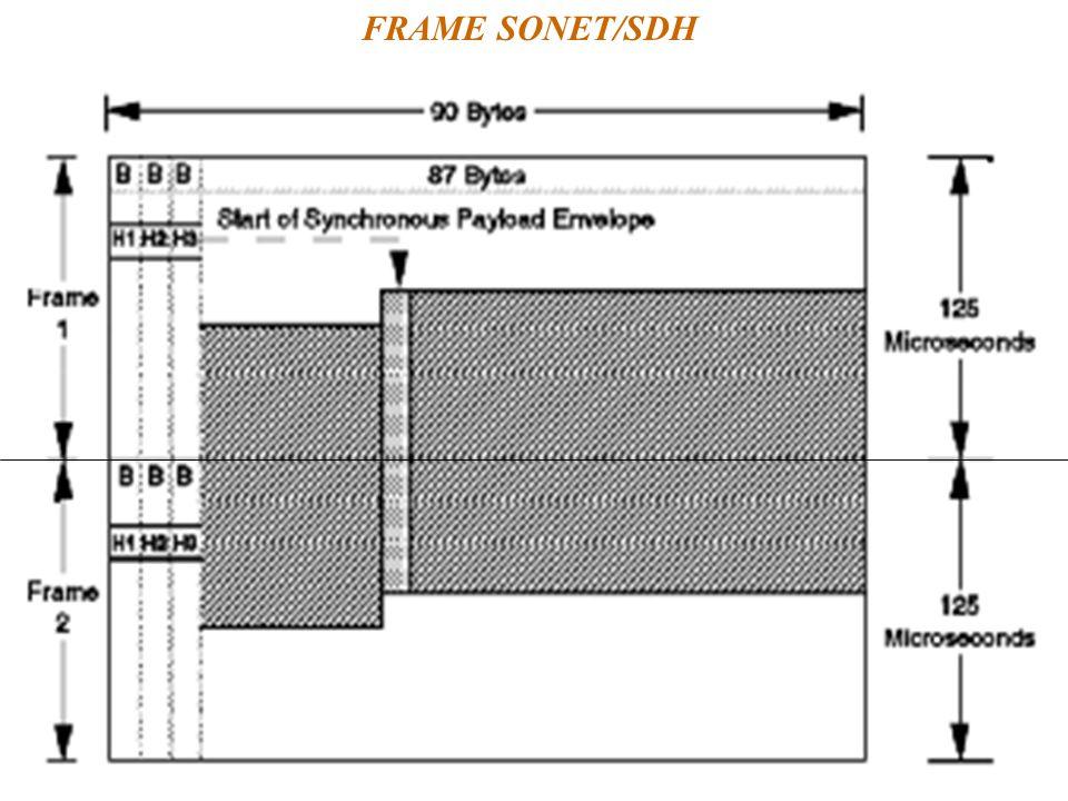 FRAME SONET/SDH