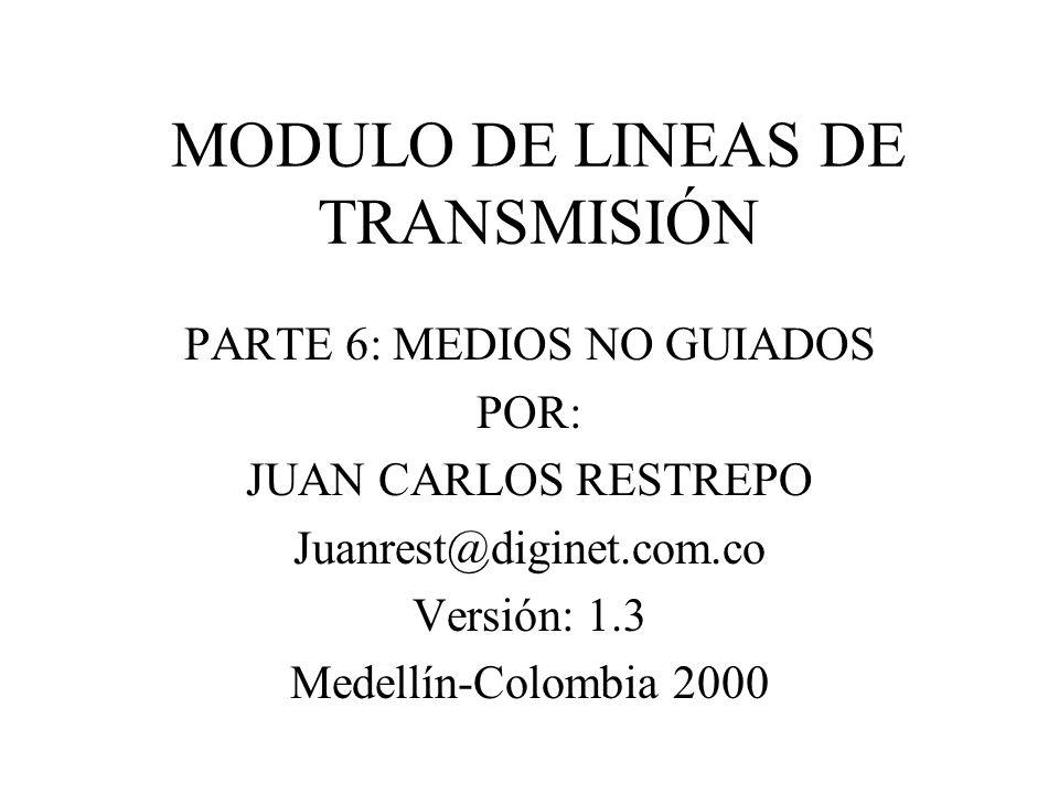 MODULO DE LINEAS DE TRANSMISIÓN