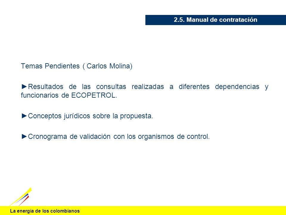 2.5. Manual de contratación