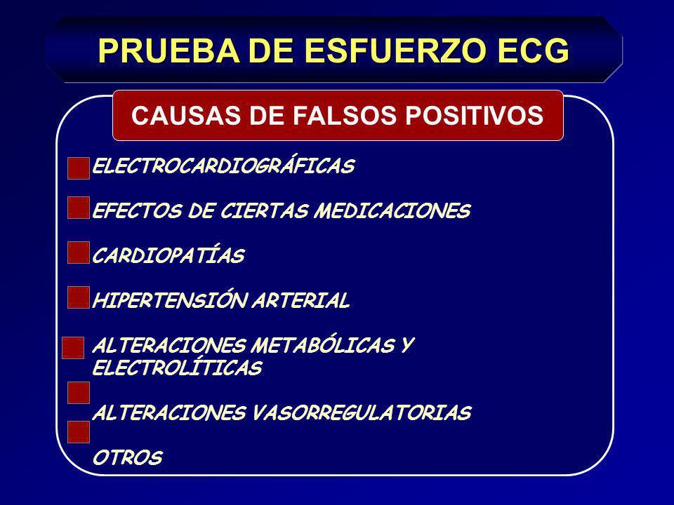CAUSAS DE FALSOS POSITIVOS
