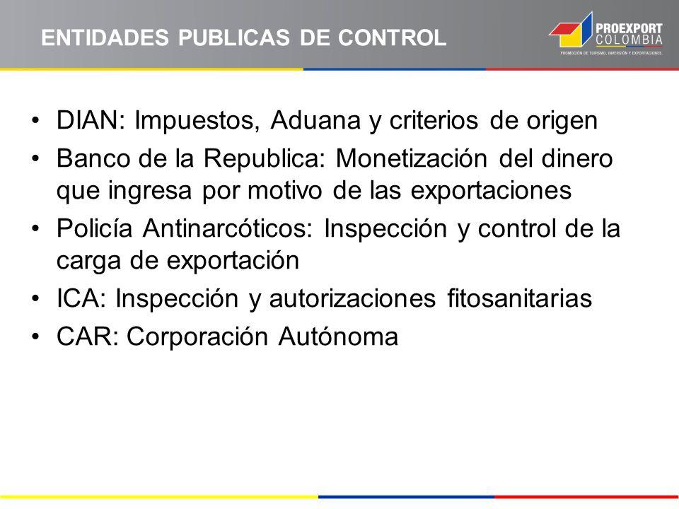 ENTIDADES PUBLICAS DE CONTROL