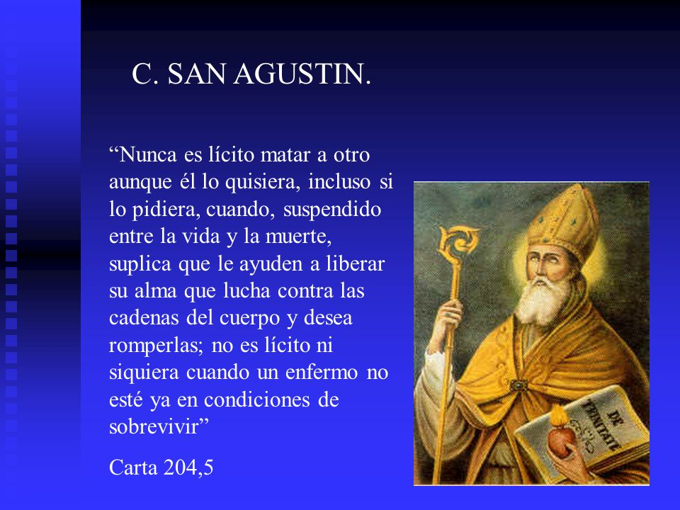 C. SAN AGUSTIN.