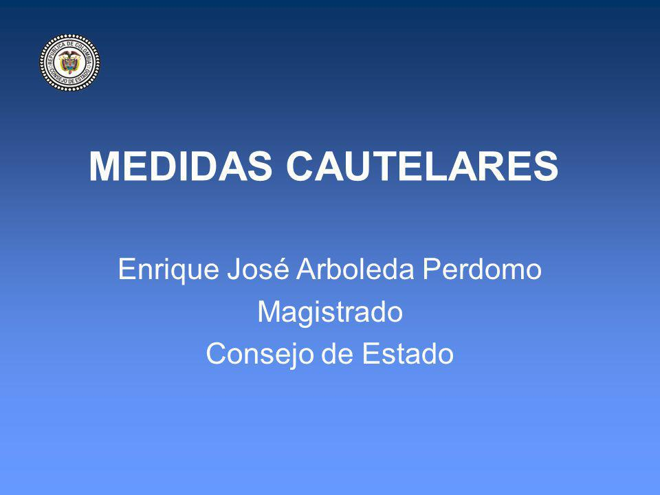 Enrique José Arboleda Perdomo Magistrado Consejo de Estado
