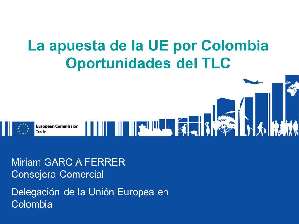 La apuesta de la UE por Colombia