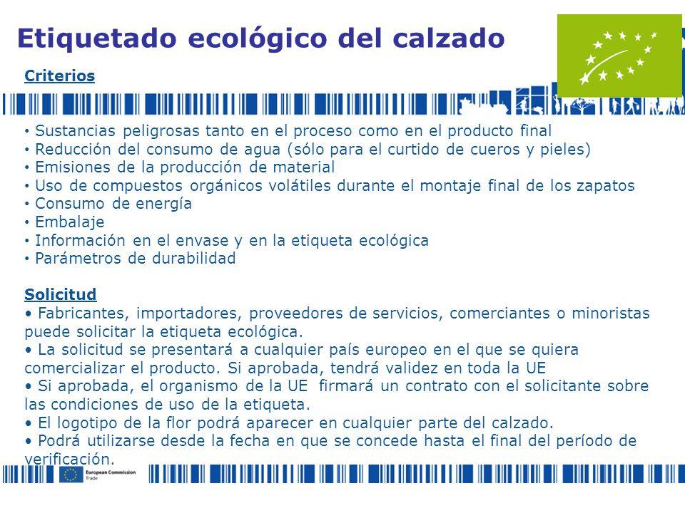 Etiquetado ecológico del calzado