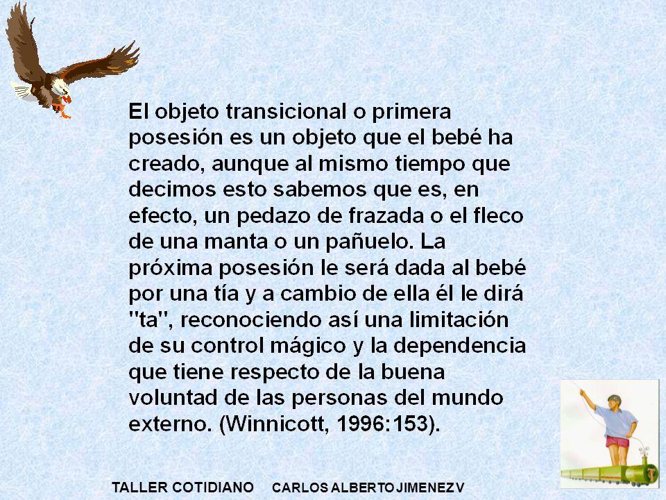 TALLER COTIDIANO CARLOS ALBERTO JIMENEZ V