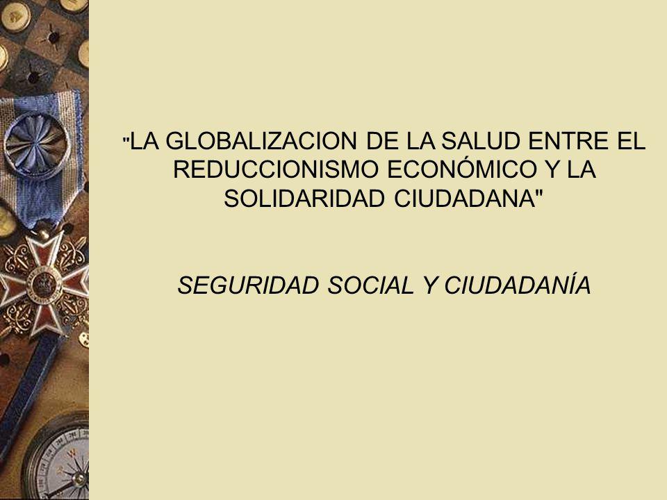 SEGURIDAD SOCIAL Y CIUDADANÍA