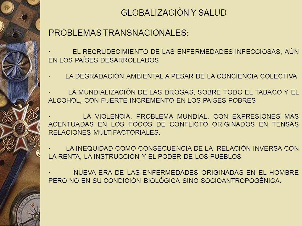 PROBLEMAS TRANSNACIONALES: