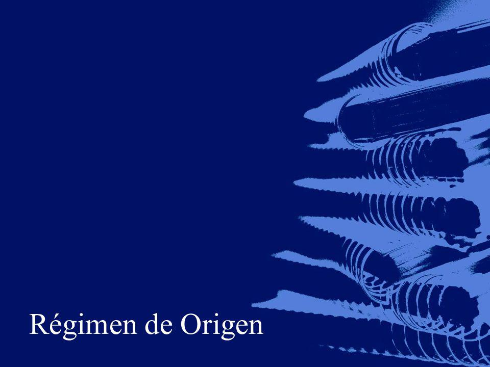Régimen de Origen