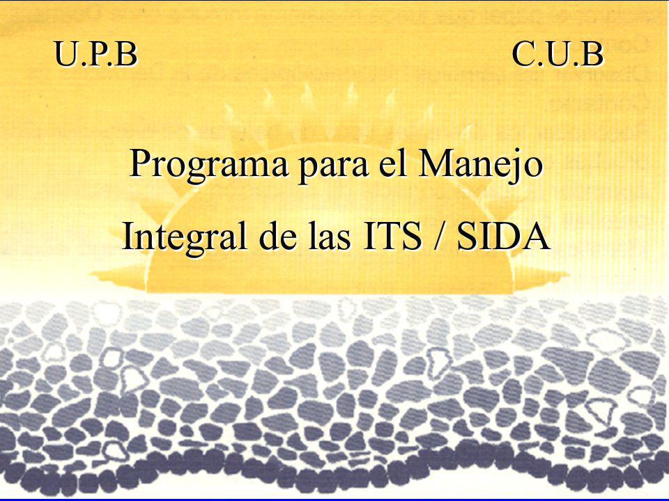 Programa para el Manejo Integral de las ITS / SIDA