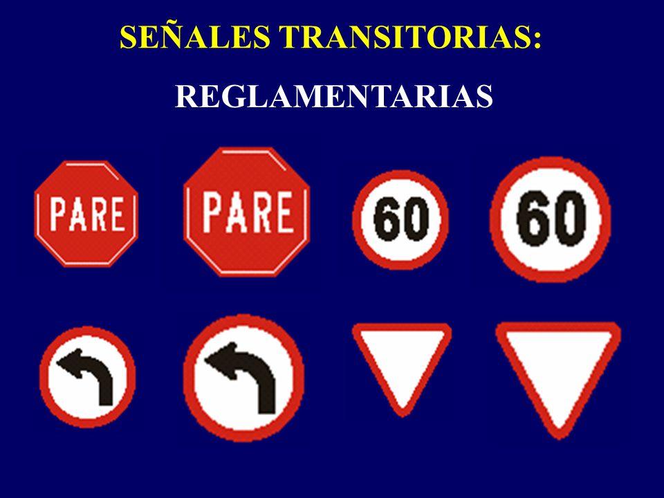 SEÑALES TRANSITORIAS: