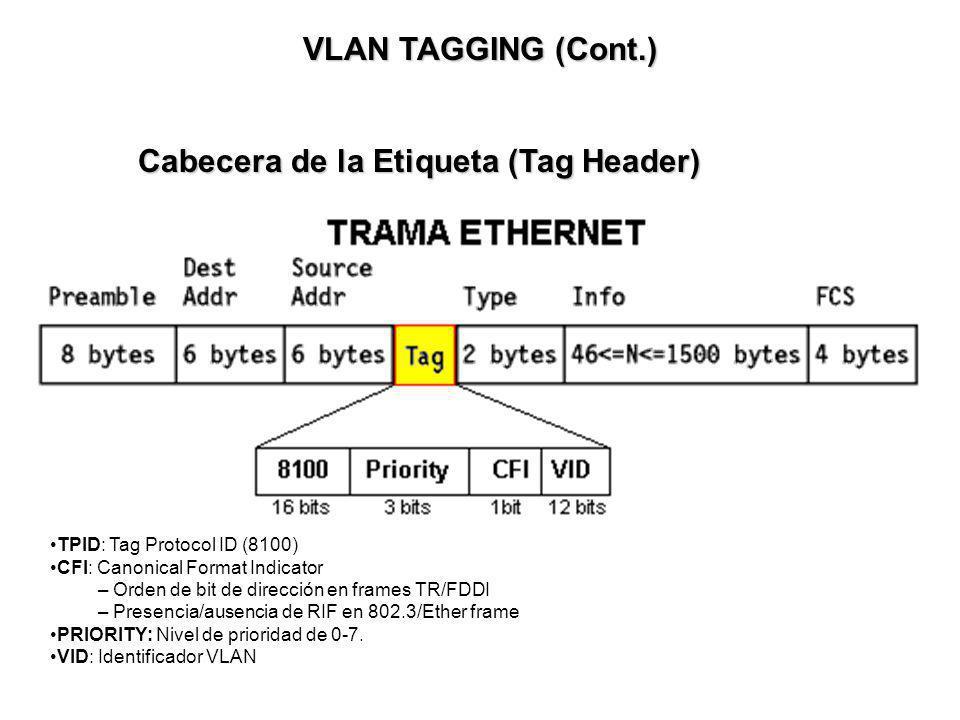 Cabecera de la Etiqueta (Tag Header)