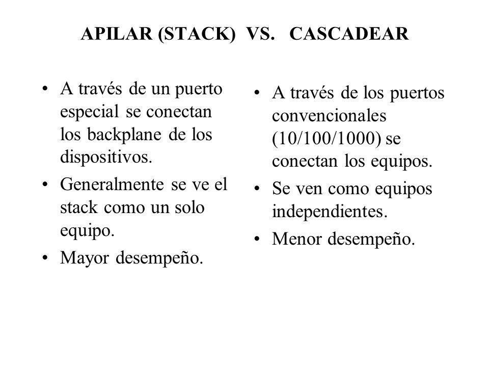 APILAR (STACK) VS. CASCADEAR