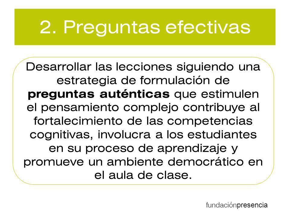 2. Preguntas efectivas