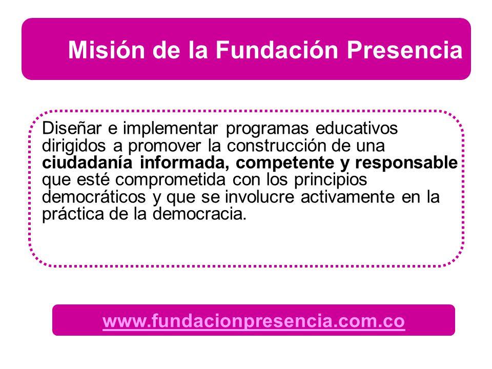 Misión de la Fundación Presencia