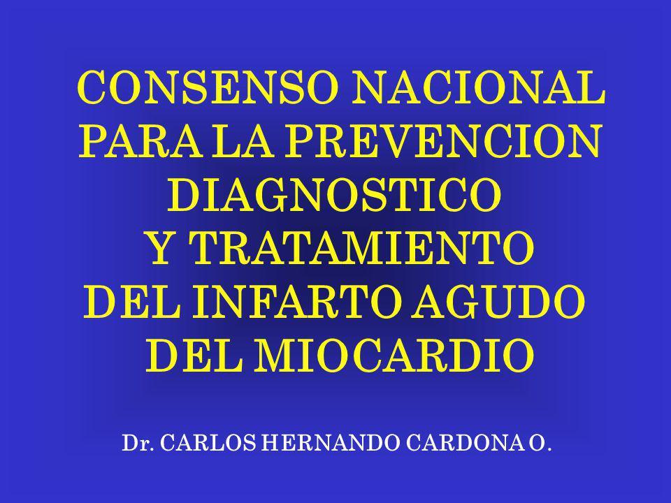 CONSENSO NACIONAL PARA LA PREVENCION DIAGNOSTICO Y TRATAMIENTO
