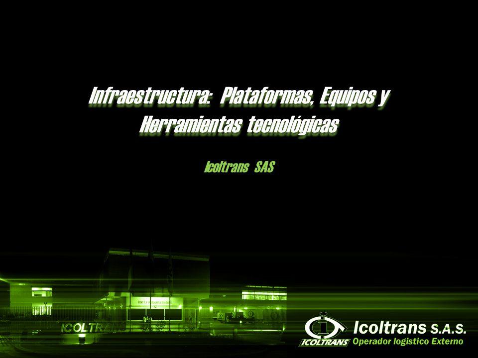 Infraestructura: Plataformas, Equipos y Herramientas tecnológicas