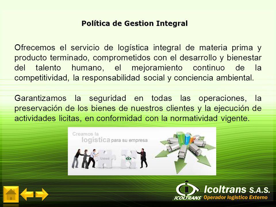 Política de Gestion Integral