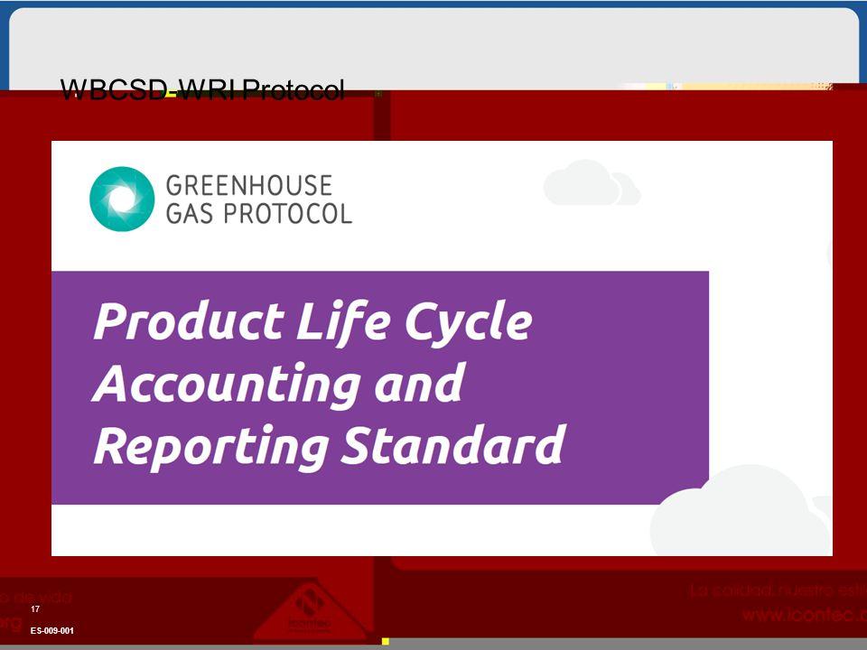 WBCSD-WRI Protocol ES-009-001