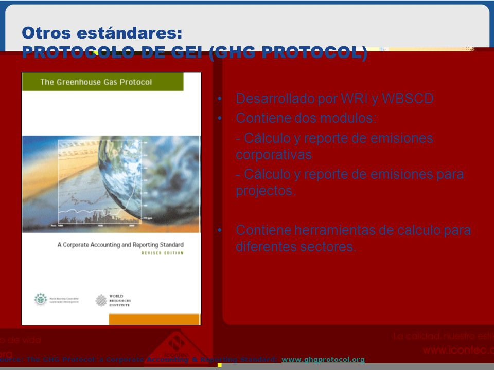 PROTOCOLO DE GEI (GHG PROTOCOL)