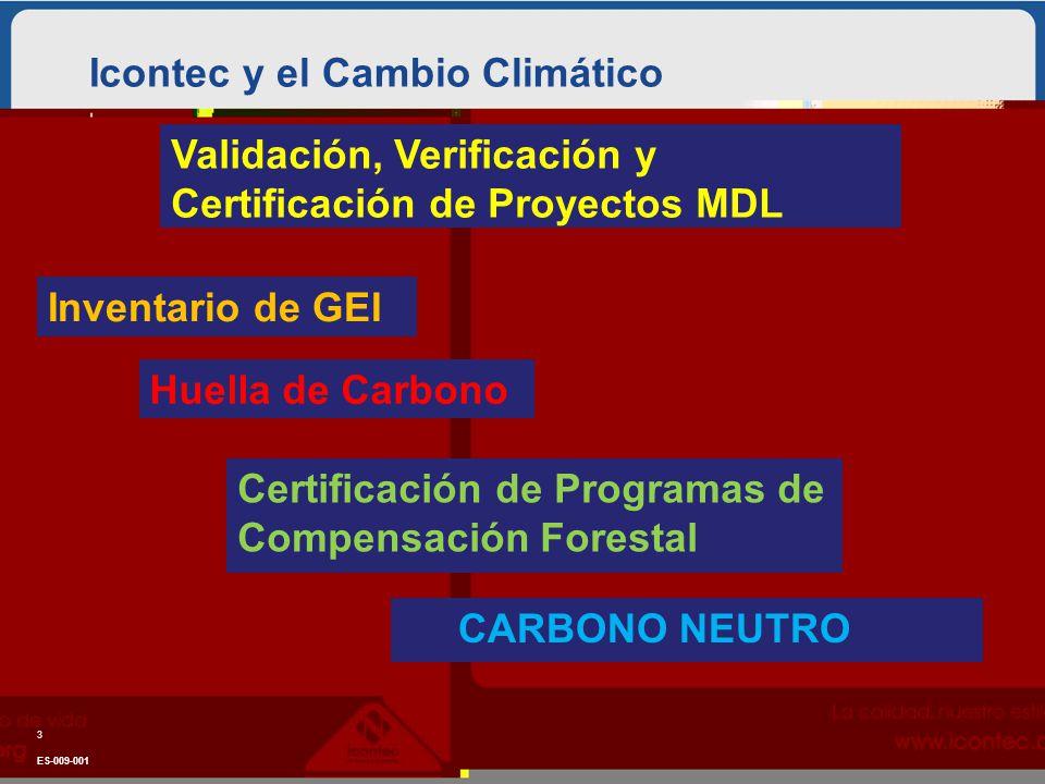 Icontec y el Cambio Climático